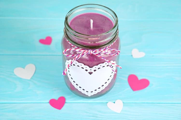 DIY Jar Candle