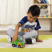Today Only! Paw Patrol Rocky's Recycle Truck Vehicle with Collectible...