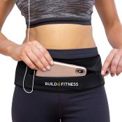 Amazon: Zipper Running Belt with Adjustable Waist and Key Clip $13.76 After...