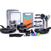 Macy's Black Friday! Sedona Cookware and Food Storage Set - 64 Pieces $54.99...