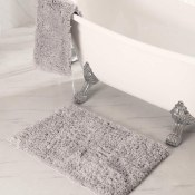 Amazon: Home Bathroom Rug in Gray $9.99 (Reg. $19.99)