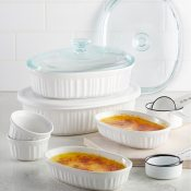 Macy's Black Friday! Corningware French White 10-Pc. Bakeware Set $17.99...