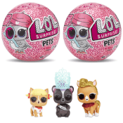 Today Only! Amazon: 2-Pack L.O.L. Surprise! Pets Series 4 $8.99 (Reg. $19.98)