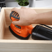 Classic Mouse Detail Sander, Perfect for Corners and Edges! Under $16!...