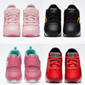 Reebok Cyber Monday! 50% off on Kid's Shoes and More as low as $15! FREE...