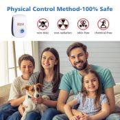Amazon: 6 Pack Electronic Ultrasonic Pest Repeller $15.60 (Reg. $25.99)...