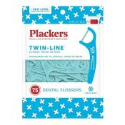 Amazon Cyber Week! 75-Count Plackers Twin-Line Dental Floss Picks as low...