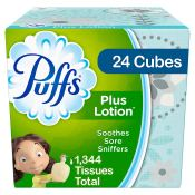 Amazon: 24 Cubes Puffs Plus Lotion 56 Count as low as $17.85 (Reg. $33.34)...