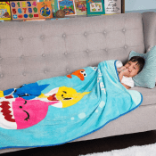 TODAY ONLY! Amazon Cyber Week! Baby Shark Super Soft Plush Throw $14.99...