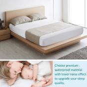 Amazon: Bedsure Waterproof Mattress Protector $15.39 After Code (Reg. $21.99)