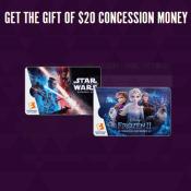 Fandango Holdiday Deal! FREE $20 Concession Certificate w/ $100 Fandango...