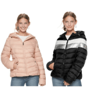 Kohl's: Junior's Madden NYC Packable Jacket as low as $20.99 (Reg. $80)