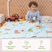 Amazon Cyber Week! Kids 5-Pound Weighted Blanket $25.59 After Code (Reg....