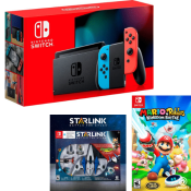 Best Buy Cyber Week! In Stock! Nintendo Switch 32GB Console w/ 2 Games...