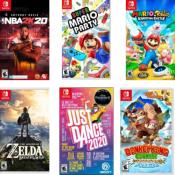 Best Buy Cyber Week! On Sale Nintendo Switch Games!