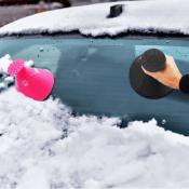 Hurry! Jane: Popular Windshield Cone Ice Scraper $5.99 (Reg. $9.99)