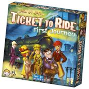 Woot Cyber Week! Ticket to Ride - First Journey Board Game $13.99 (Reg....