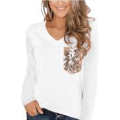 Amazon: Women's Leopard Pocket Loose T-Shirt $7.98 After Code (Reg. $26.60)