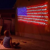 Amazon Cyber Week: 390 LEDs American Flag String Lights 6.5FT x 3.3FT $11.99...