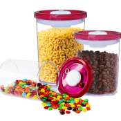 Amazon: 3 Pieces Airtight Food Storage Container Set  $12 After Code (Reg....