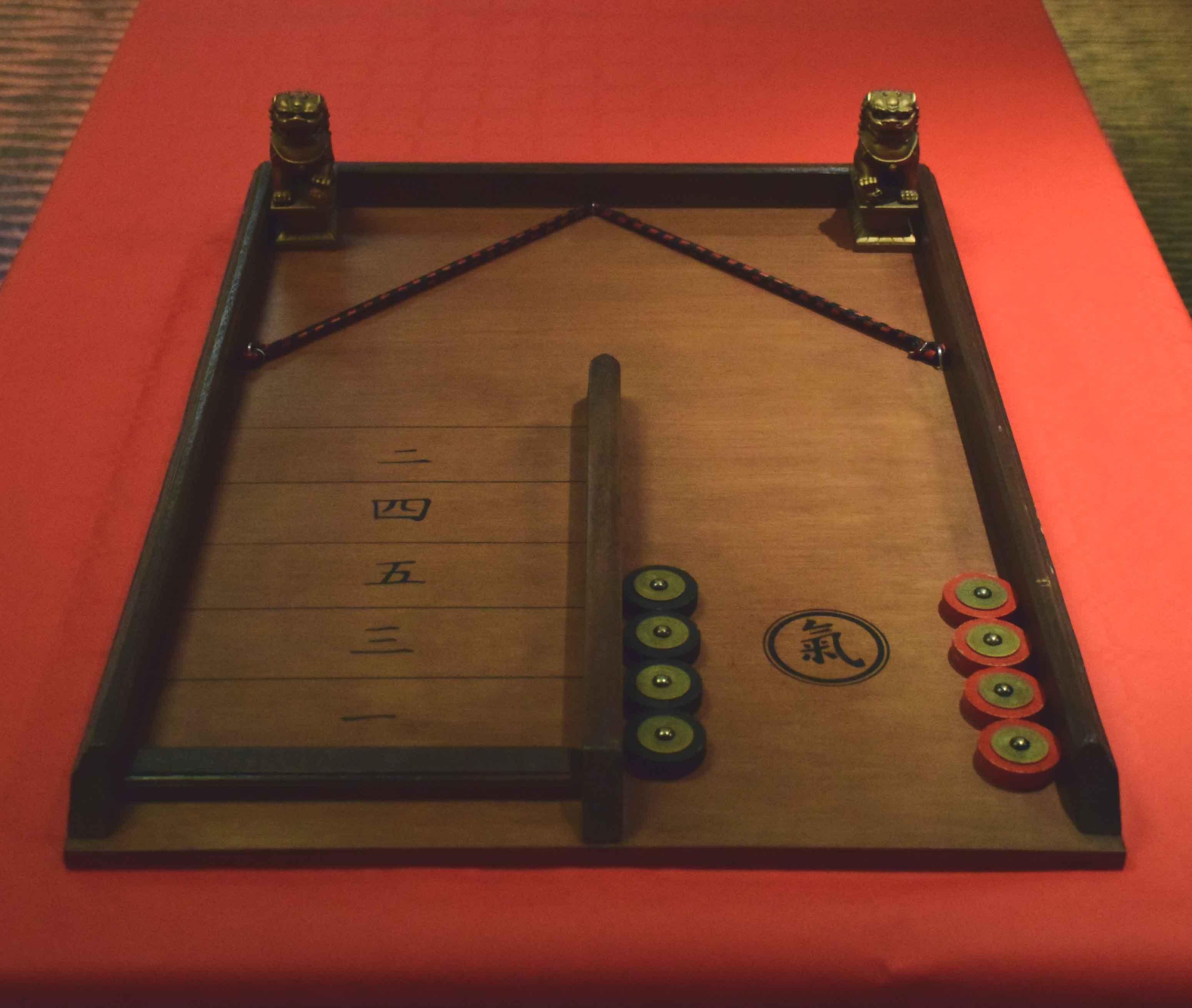 Jeux en bois asiatique