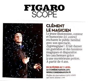 Figaroscope Magicien Enfants