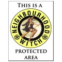 http://www.fabu-licious.com/Metal-Signs-Wall-Plaques/Neighbourhood-Witch-Metal-Sign