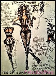 beyonce superbowl outfit