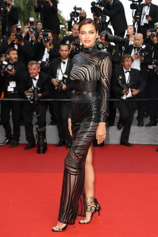 Irina Shayk attends the 'The Beguiled' screening during the 70th annual Cannes Film Festival at Palais des Festivals on May 24, 2017 in Cannes, France. Photo by Shootpix/ABACAPRESS.COM