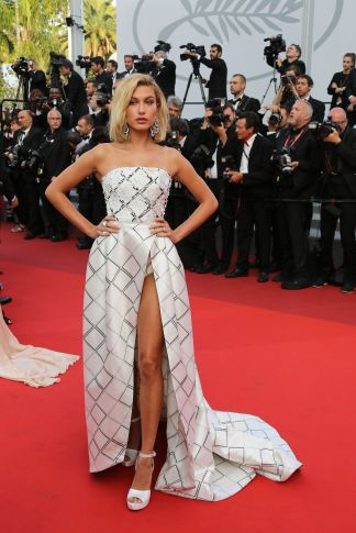Hailey Baldwin attending the 'The Beguiled' screening during the 70th annual Cannes Film Festival at Palais des Festivals on May 24, 2017 in Cannes, France. Photo by David Boyer/ABACAPRESS.COM
