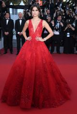Mandatory Credit: Photo by Matt Baron/BEI/Shutterstock (8823020hx) Sara Sampaio 'Ismael's Ghosts' premiere and opening ceremony, 70th Cannes Film Festival, France - 17 May 2017