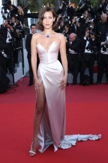 Mandatory Credit: Photo by Matt Baron/BEI/Shutterstock (8823020il) Bella Hadid 'Ismael's Ghosts' premiere and opening ceremony, 70th Cannes Film Festival, France - 17 May 2017