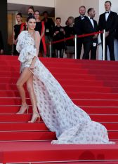 Mandatory Credit: Photo by Matt Baron/BEI/Shutterstock (8825704bj) Kendall Jenner '120 Beats Per Minute' premiere, 70th Cannes Film Festival, France - 20 May 2017