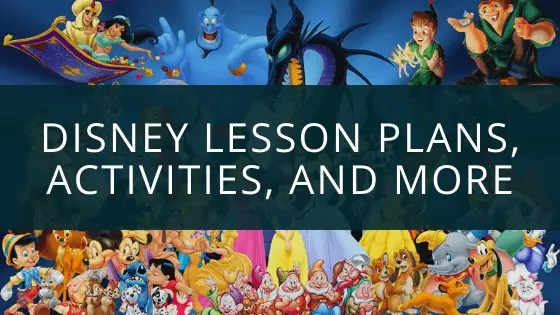 Disney Lesson Plans, Printables, Activities And More - Most Free!