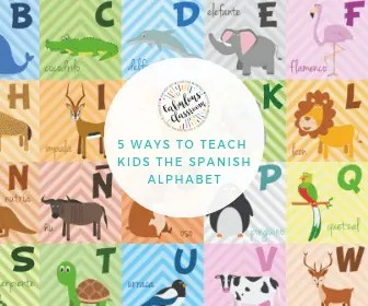 Teach Spanish Alphabet
