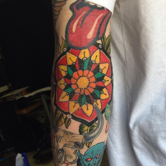 150 Attractive Elbow Tattoos For Men Women April 2018