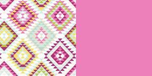 Aztec Blush - Bubble Gum