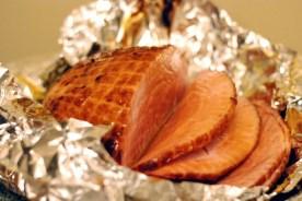 Ham and german potato salad