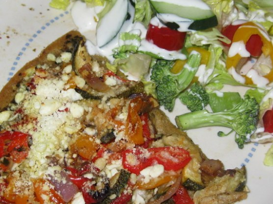 grilled vegetable pizza (7)