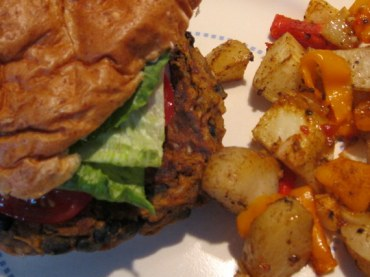 Sweet Potato Burgers (6)