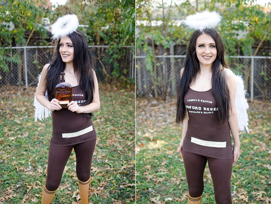 angel share bourbon halloween costume