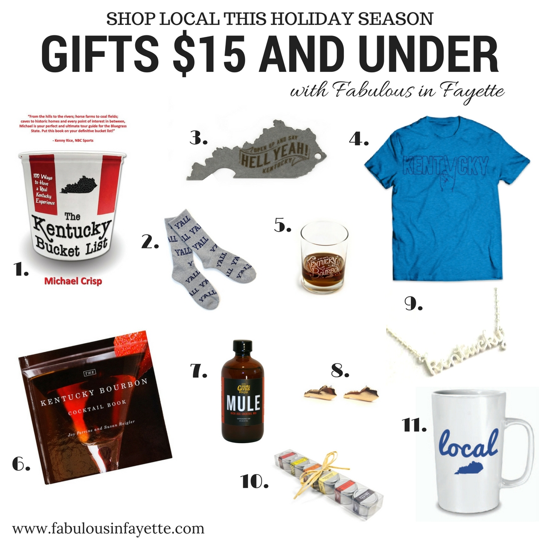 shop local kentucky $15 and under