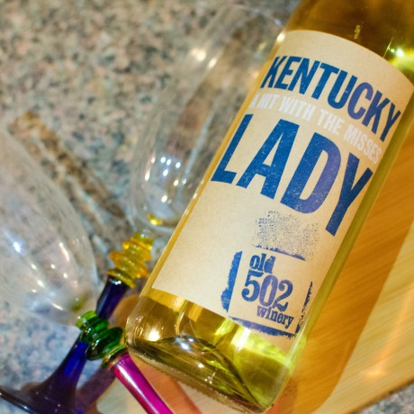 shrimp scampi kentucky lady wine