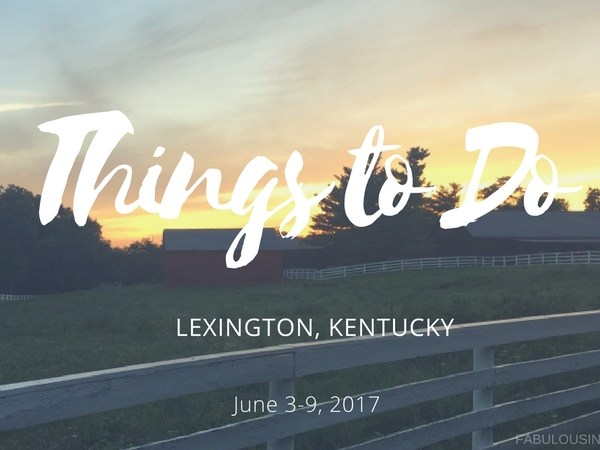 things to do in lexington kentucky