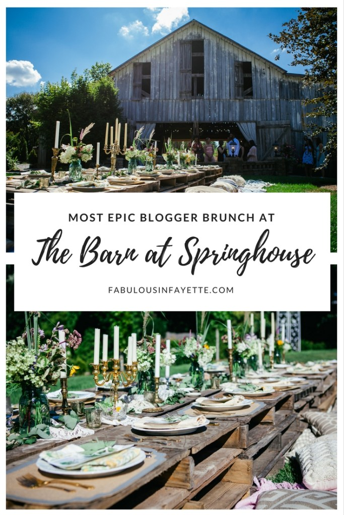 the barn at springhouse