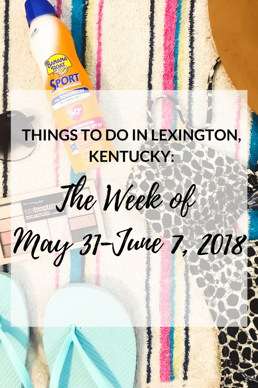 We've made it through another month!! I've put together a list of events for the upcoming week, so you can be entertained. However, this time, I've handpicked the events and included the ones that I think everyone would enjoy the most! #sharethelex #travelky #visitlex #lexingtonky #kentucky #shoplocal #spring #summer #thingstodo #event