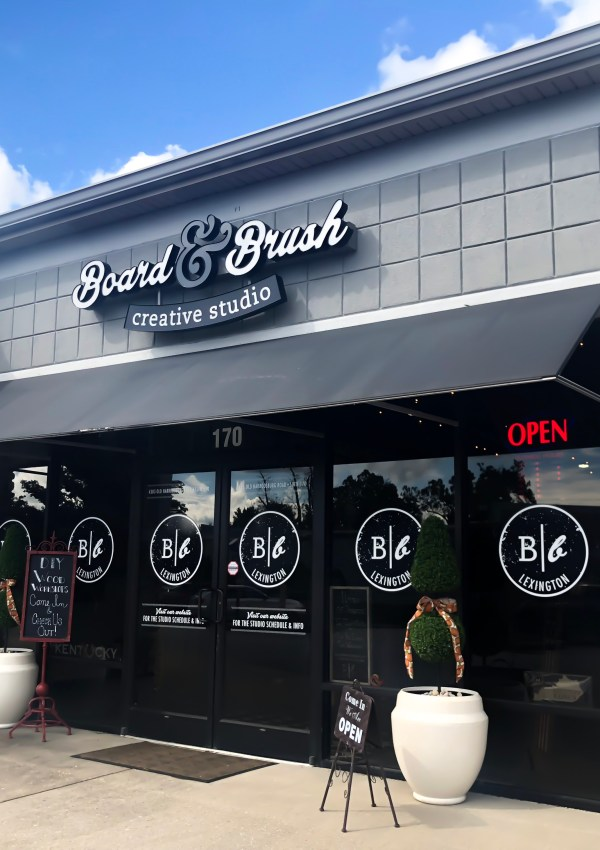A Unique Experience With Board and Brush of Lexington, Kentucky