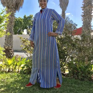 Periwinkle Stripe Dress