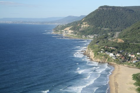 View of the coastline Grand Pacific Drive