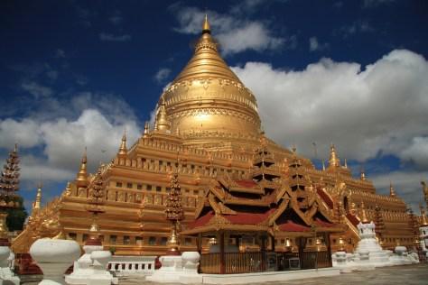 Shwe Zi Gon Pagoda, Bagan